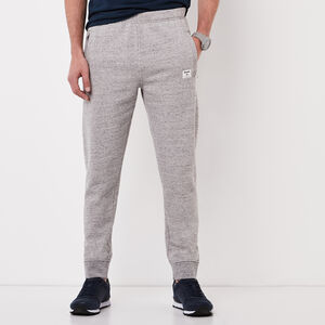 Roots-Men Bottoms-Field Utility Sweatpant-Grey Mix-A