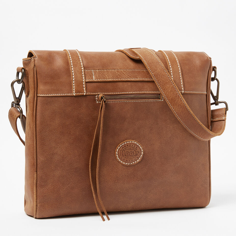 Roots-Leather Our Favourite New Arrivals-Modern Satchel Tribe-Natural-C