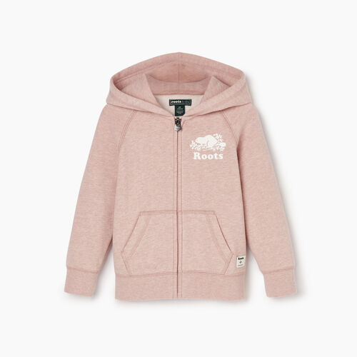 Roots-Kids Our Favourite New Arrivals-Toddler Original Full Zip Hoody-Deauville Mauve Mix-A
