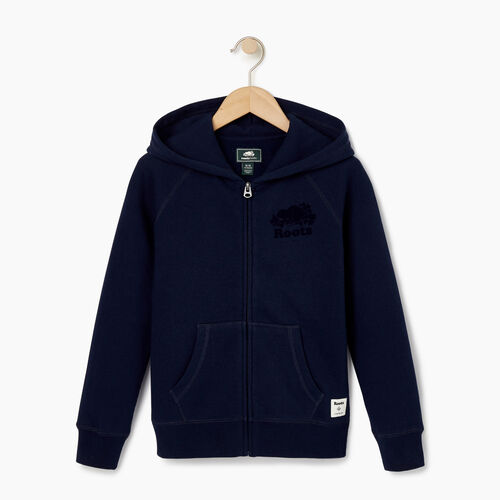 Roots-Kids Our Favourite New Arrivals-Boys Original Full Zip Hoody-Navy Blazer-A