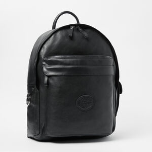 Roots-Leather Backpacks-Student Pack Prince-Black-A