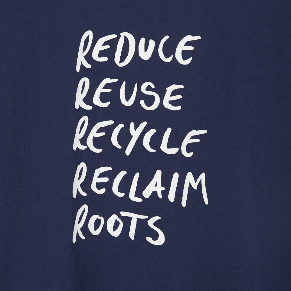 Roots-undefined-Mens Roots Recycle T-shirt-undefined-D