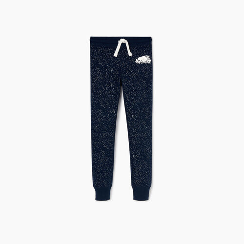 Roots-Kids Our Favourite New Arrivals-Girls Sparkle Cozy Sweatpant-Navy Blazer-A