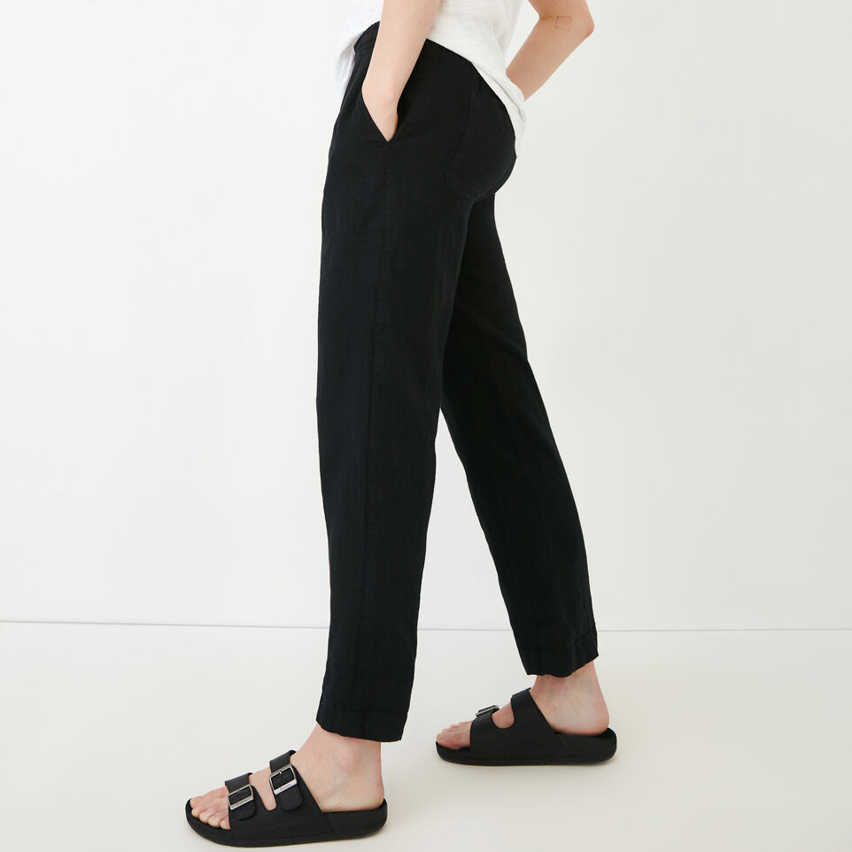 Roots-Women Our Favourite New Arrivals-Sadie Pant-Black-C