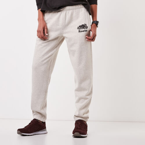 Roots-Women Original Sweatpants-Original Sweatpant-White Grey Mix-A