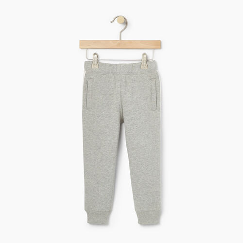 Roots-Kids Bottoms-Toddler Sportsmas Sweatpant-Grey Mix-A