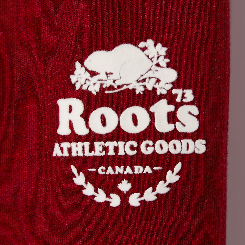 Roots-New For December Kids-Baby Laurel Sweatpant-Cabin Red Mix-C