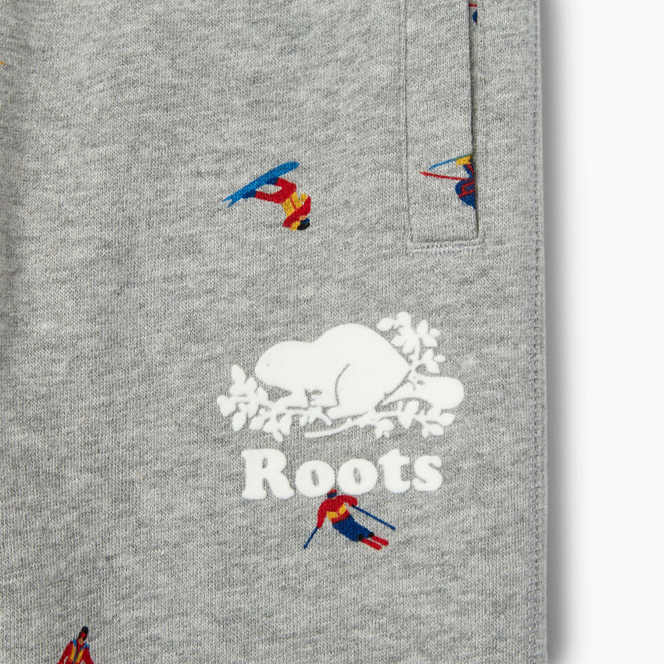 Roots-Kids Our Favourite New Arrivals-Toddler Skier AOP Sweatpant-Grey Mix-D