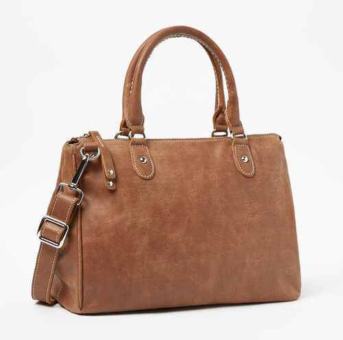 Roots-Sale Leather-Small Grace Bag-Natural-A
