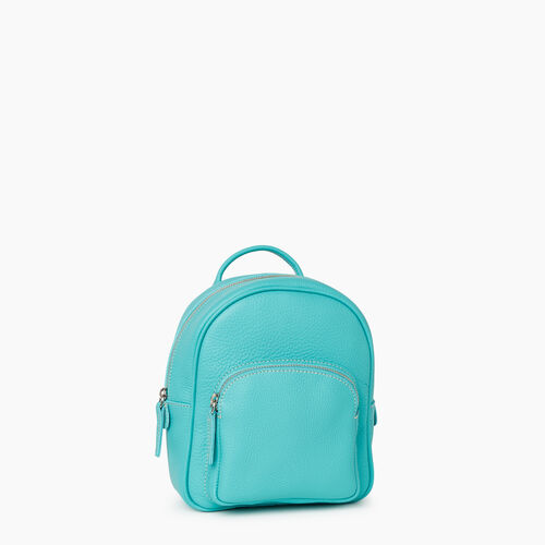 Roots-Leather City Bags-City Chelsea Pack Parisian-Turquoise-A