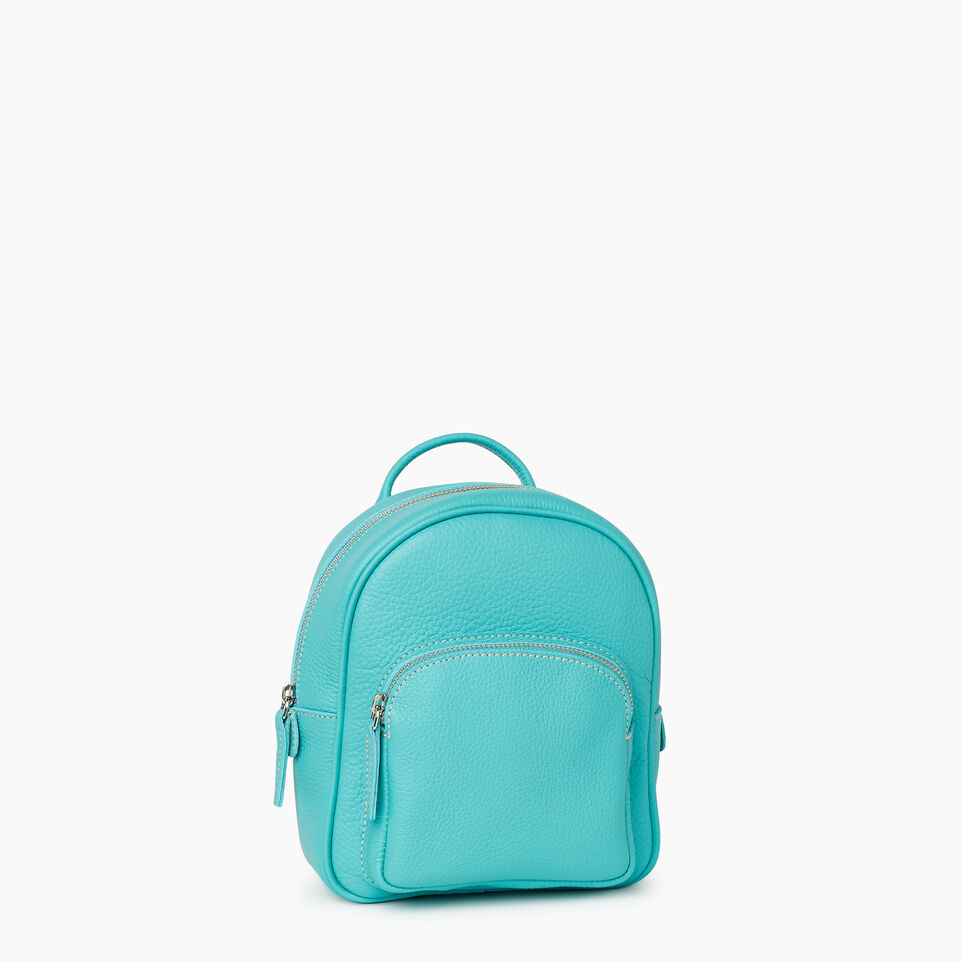 Roots-Cuir Sacs Style Urbain-City Chelsea Pack Parisian-Turquoise-A