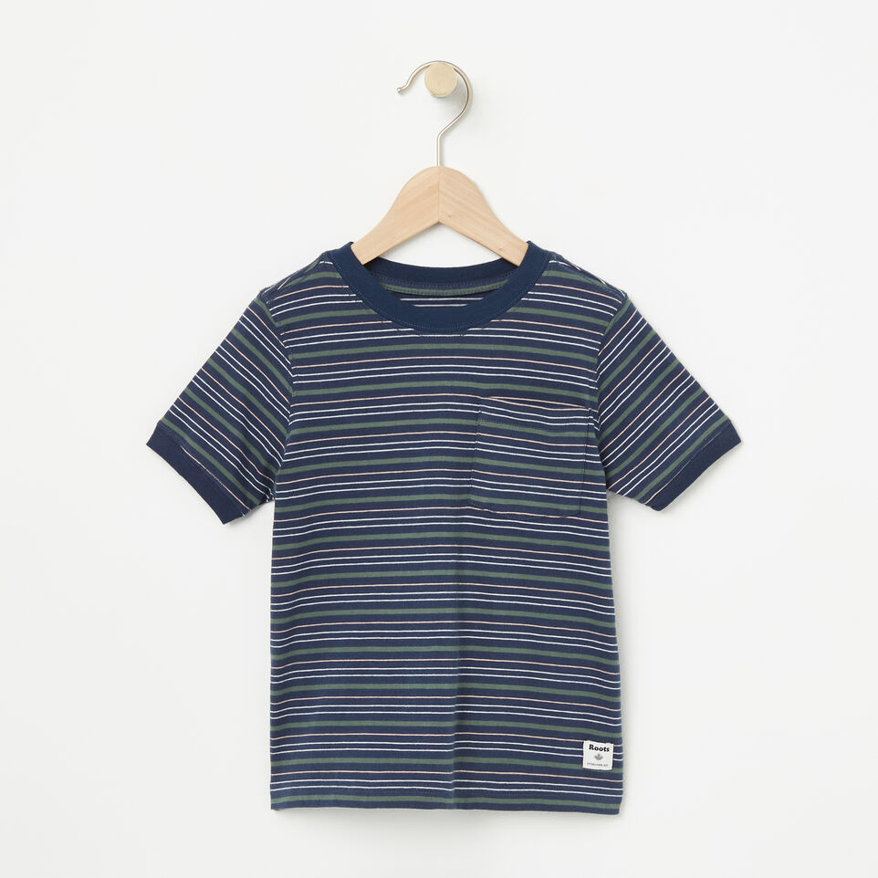 Roots-undefined-Toddler Striped Ringer Top-undefined-A