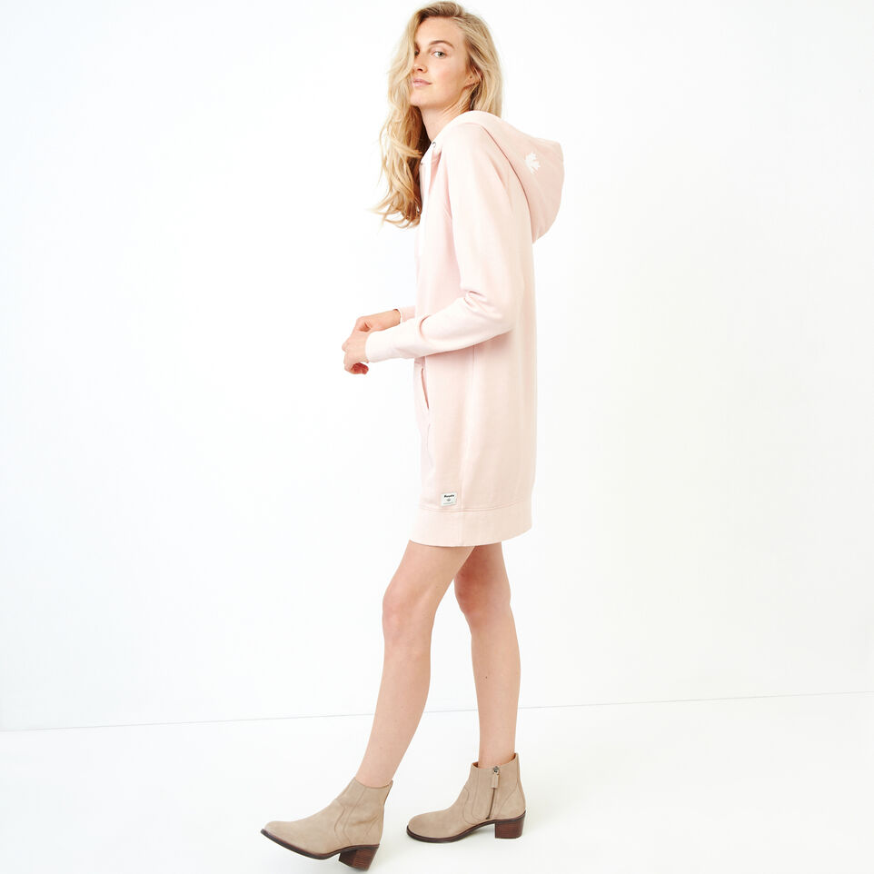 Roots-Women Our Favourite New Arrivals-Garment Dyed Dockside Dress-Pink-C
