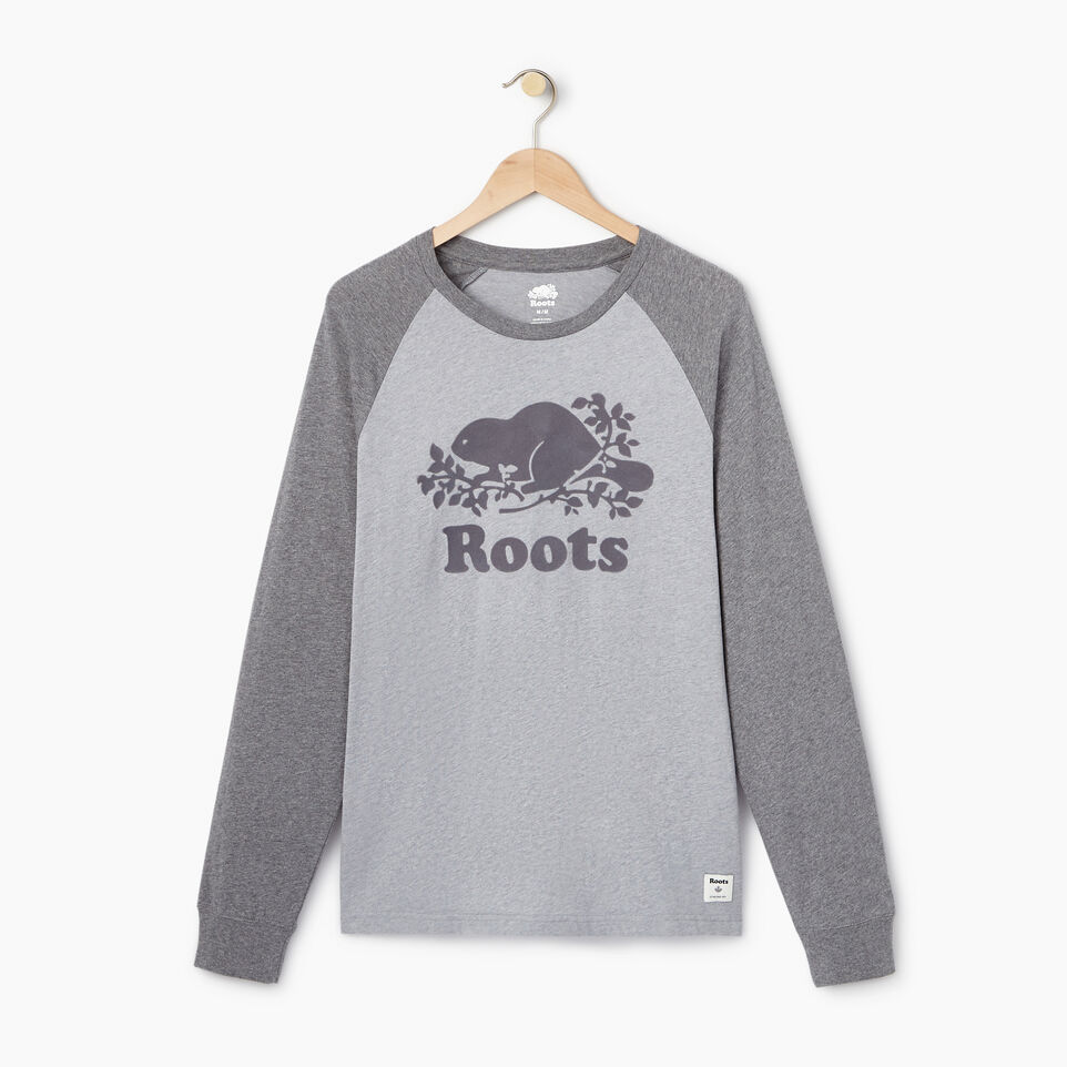 Roots-undefined-Mens Cooper Raglan Long Sleeve  T-shirt-undefined-A