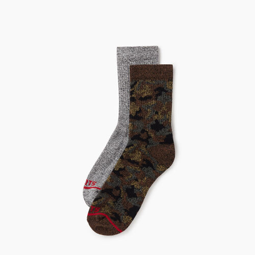 Roots-Men New Arrivals-Mens Camo Pepper Sock 2 pack-Camo Print-A