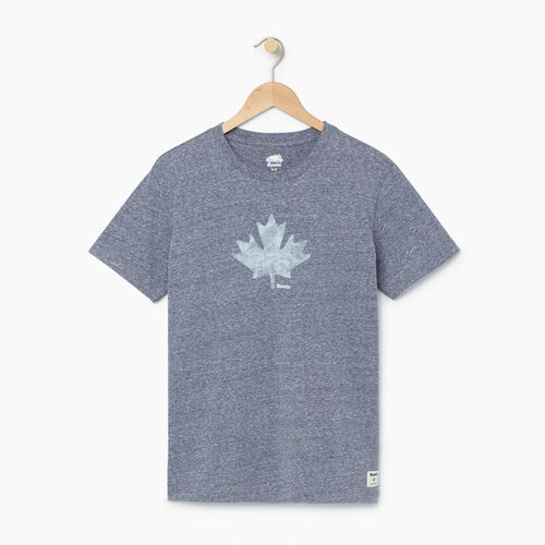 Roots-Women Bestsellers-Womens Watercolour Maple T-shirt-Eclipse-A