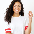 Roots-New For January Women-Vanness T-shirt-Crisp White-E