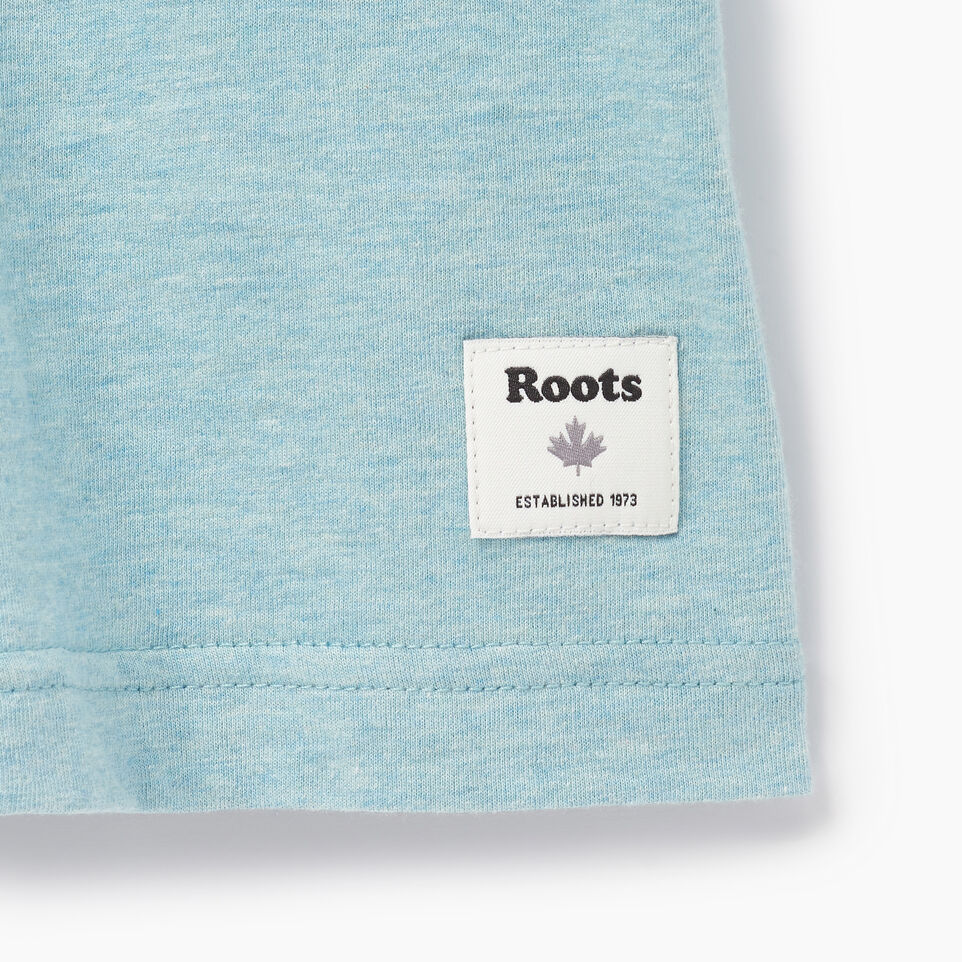 Roots-Men Our Favourite New Arrivals-Mens Friends T-shirt-Cameo Blue Pepper-C
