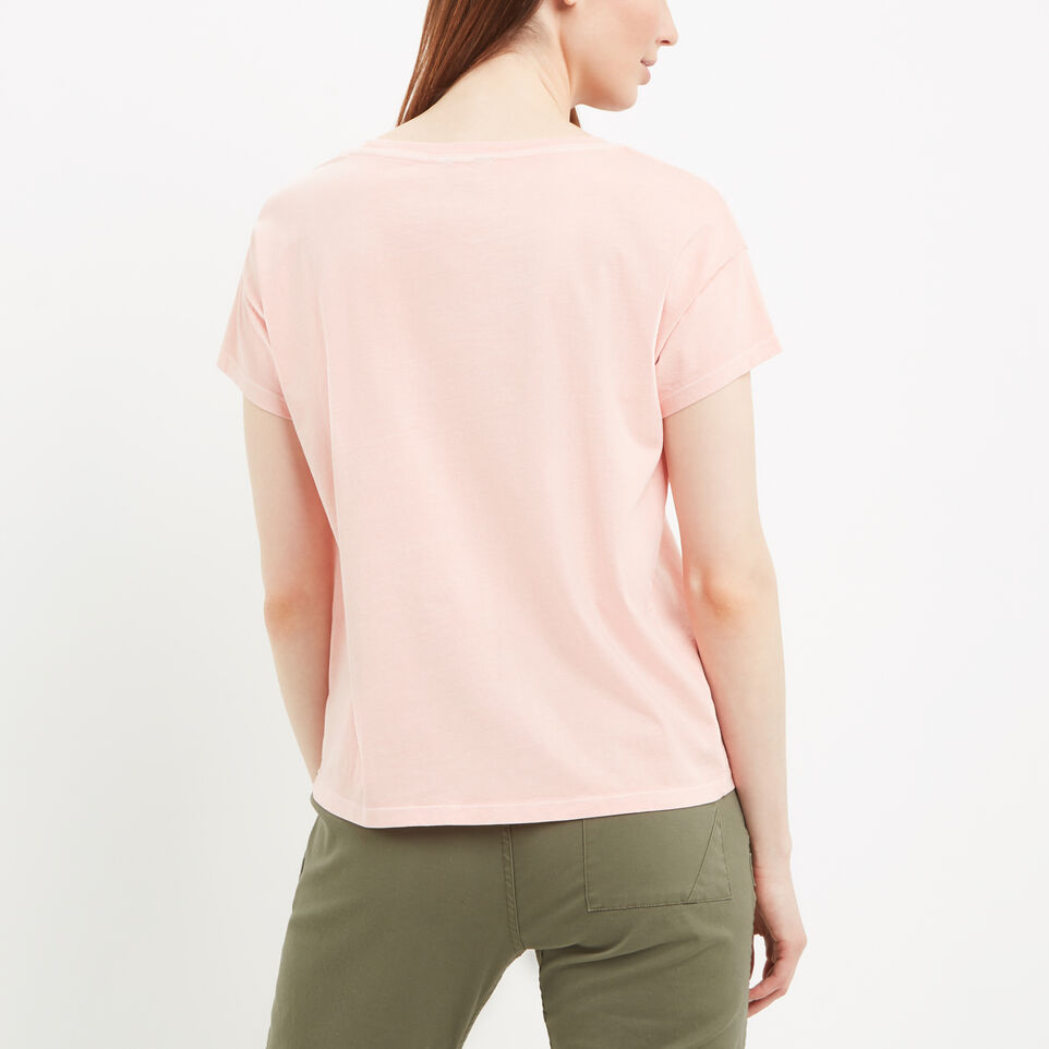 Roots-undefined-Boyfriend Pocket T-shirt-undefined-E
