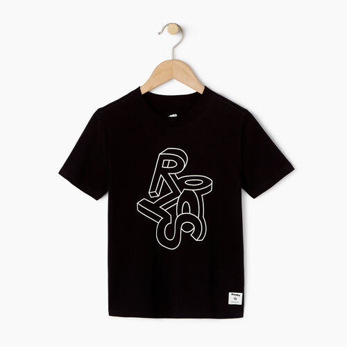 Roots-Kids Our Favourite New Arrivals-Boys Esher T-shirt-Black-A
