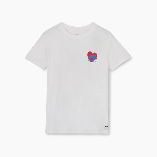 Roots-New For July Pride-Womens Love Is Love T-shirt-Crisp White-A
