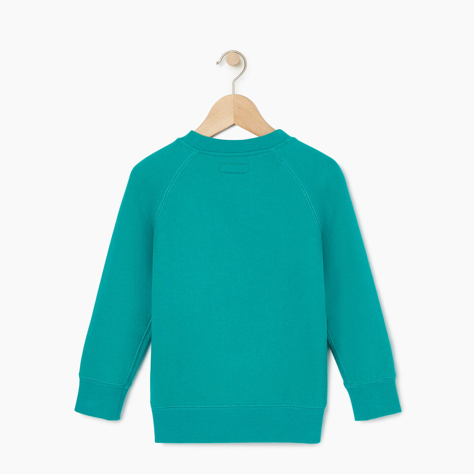 Roots-Kids Our Favourite New Arrivals-Toddler Original Crewneck Sweatshirt-Dynasty Turquoise-B