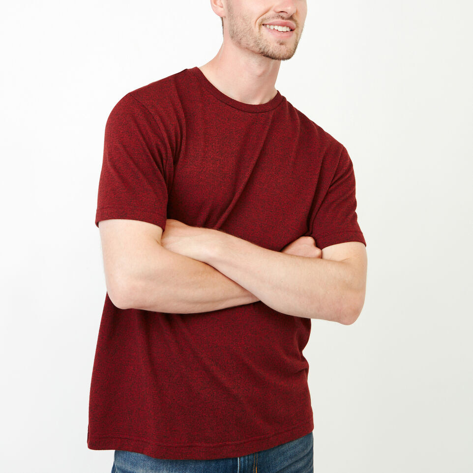 Roots-Men Our Favourite New Arrivals-Perfect Pepper T-shirt-Sundried Tomato Ppr-A