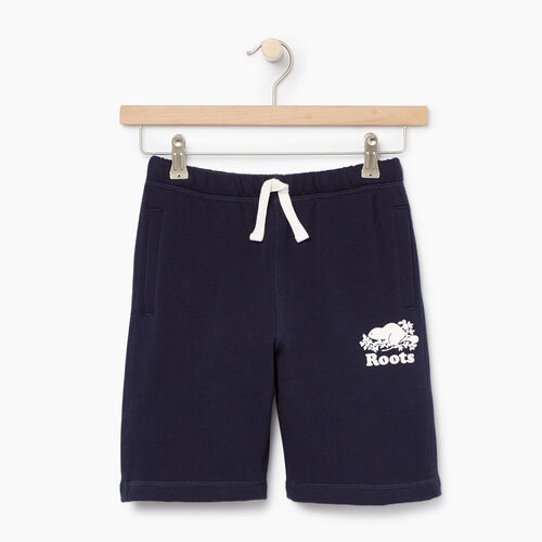 Roots-Kids Categories-Boys Original Short-Navy Blazer-A