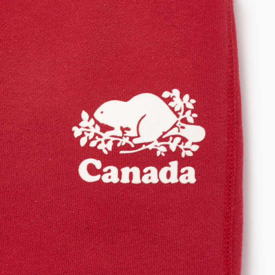 Roots-Kids Our Favourite New Arrivals-Toddler Canada Short-Sage Red-C