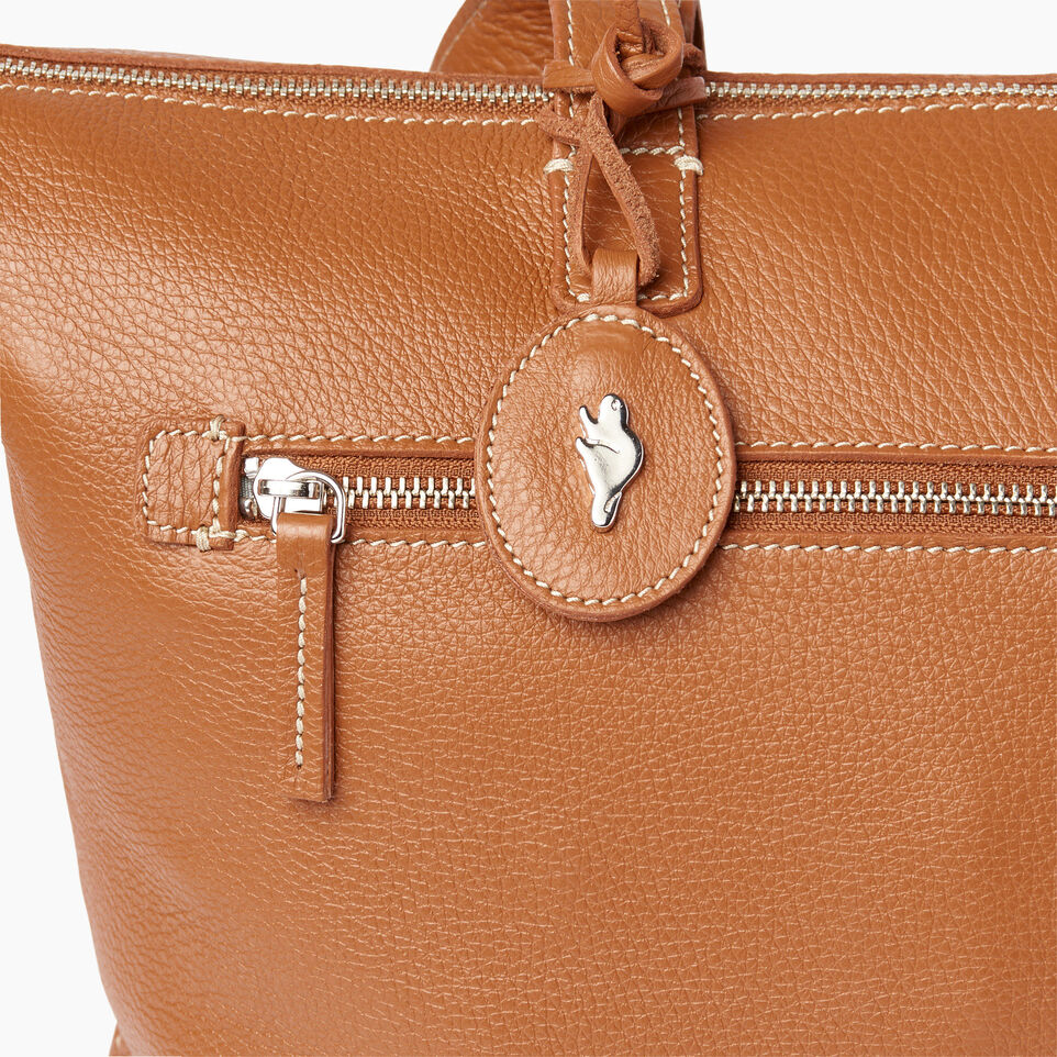 Roots-Leather Our Favourite New Arrivals-Go To Bag-Caramel-E