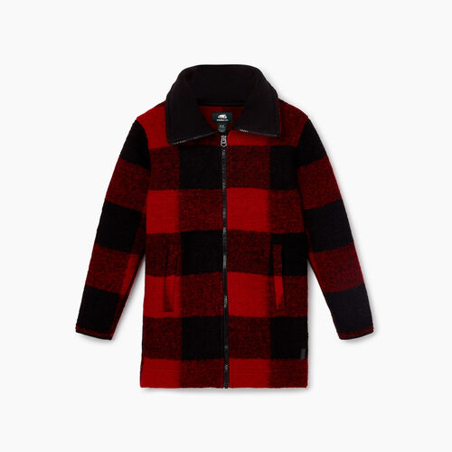 Roots-New For October Kids-Girls Seymour Jacket-Cabin Red-A
