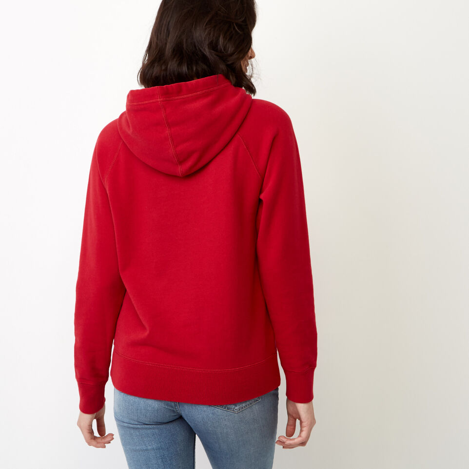 Roots-undefined-Sherpa Applique Hoody-undefined-D
