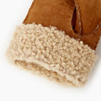 Roots-Leather New Arrivals-Womens Shearling Mitt-Tan-C