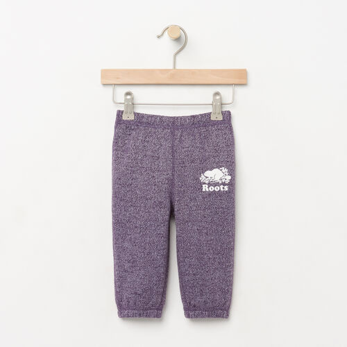 Roots-Sale Kids-Baby Original Roots Sweatpant-Purple Pennant Peppr-A