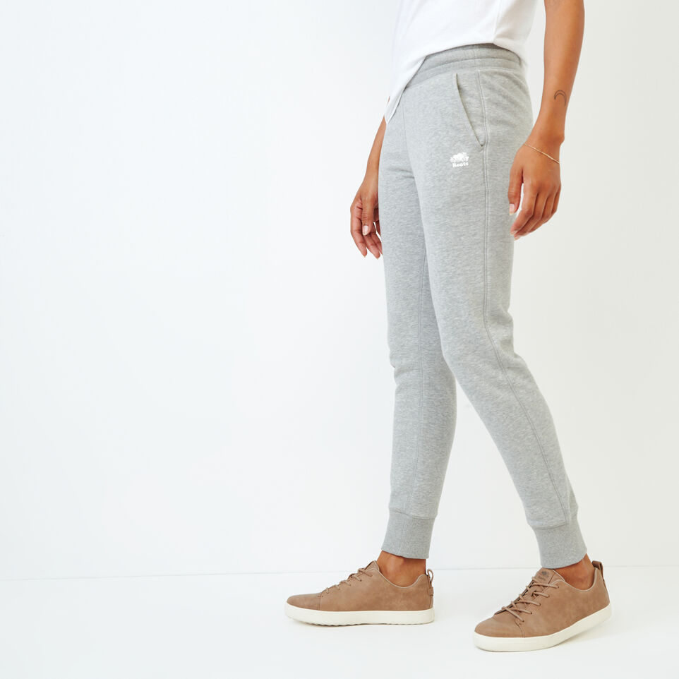 Roots-Women Our Favourite New Arrivals-Junction Sweatpant-Grey Mix-C