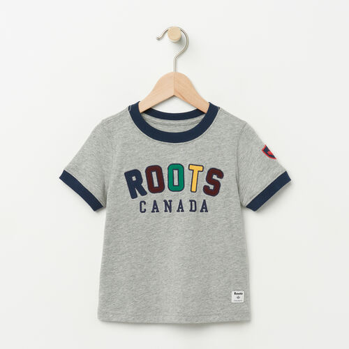Roots-Sale Toddler-Toddler Sutton Ringer T-shirt-Grey Mix-A