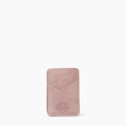 Roots-Leather Leather Accessories-Diagonal Card Holder Tribe-Woodrose-A