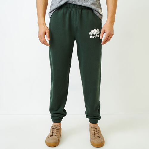 Roots-Men Our Favourite New Arrivals-Original Sweatpant-Park Green-A