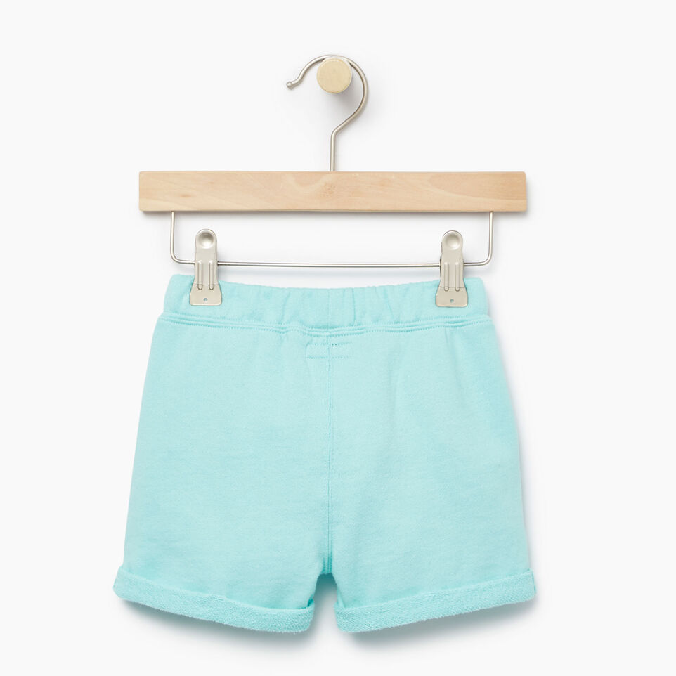 Roots-Kids Our Favourite New Arrivals-Baby Roots Beach Short-Aruba Blue-B