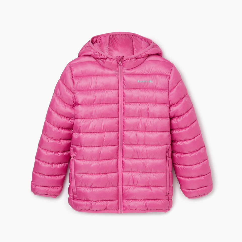 Roots-Kids Our Favourite New Arrivals-Girls Roots Puffer Jacket-Phlox Pink-B