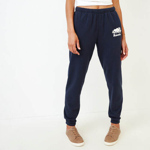 Roots-Women Our Favourite New Arrivals-Original Cozy Sweatpant-Navy Blazer-A