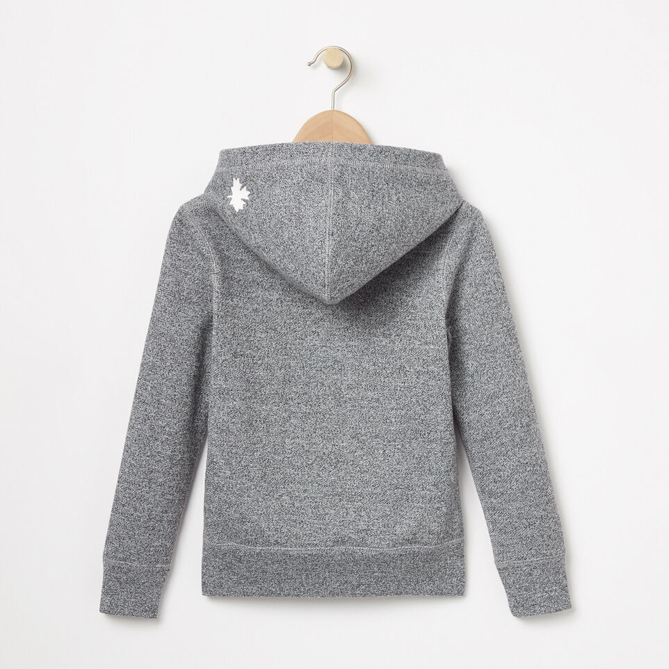 Roots-undefined-Girls Roots Salt and Pepper Original Kanga Hoody-undefined-B