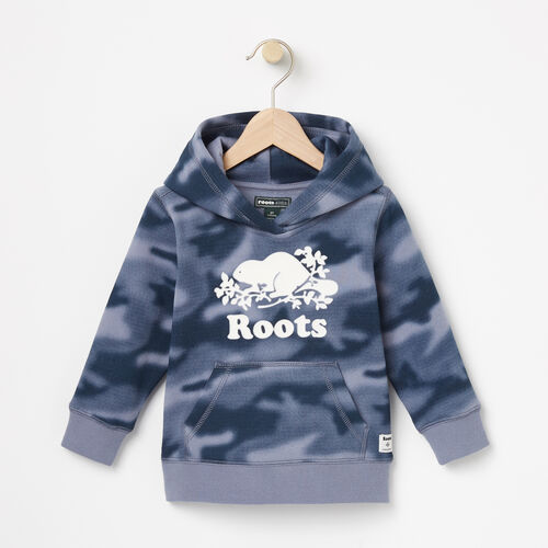 Roots-Sale Toddler-Toddler Blurred Camo Kanga Hoody-Flint Stone-A