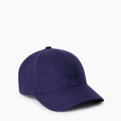 Roots-Kids Our Favourite New Arrivals-Kids Leaf Baseball Cap-Navy-A