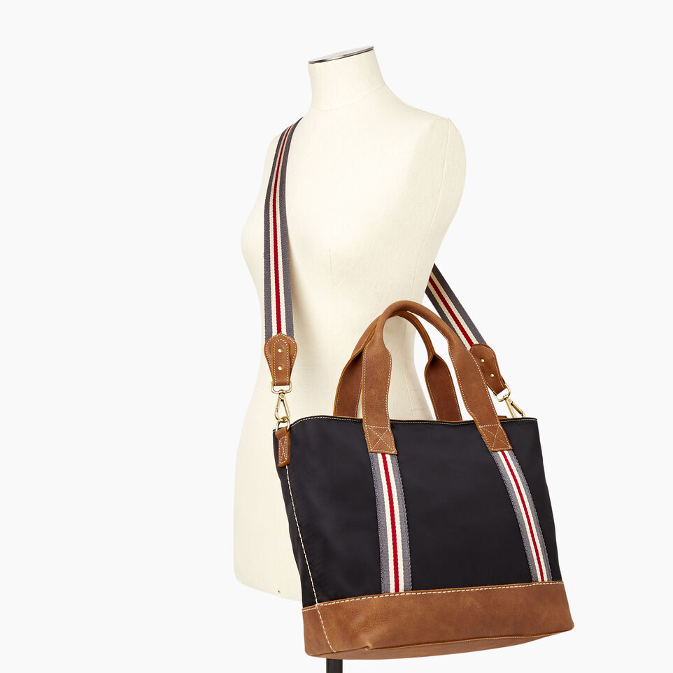 Roots-Leather New Arrivals-Smoke Lake Tote-Black-B