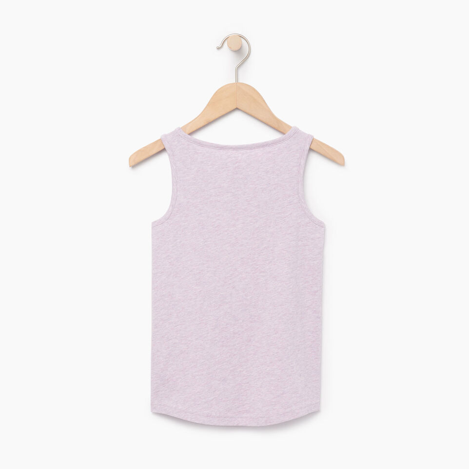 Roots-New For June Kids-Girls Gradient Cooper Beaver Tank-Lavendula Mix-B