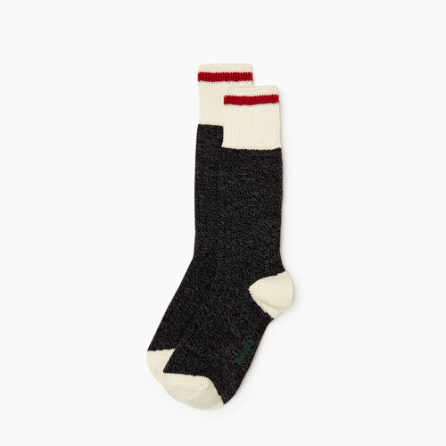 Roots-Men Our Favourite New Arrivals-Mens Roots Cabin Sock 2 pack-Black Mix-A