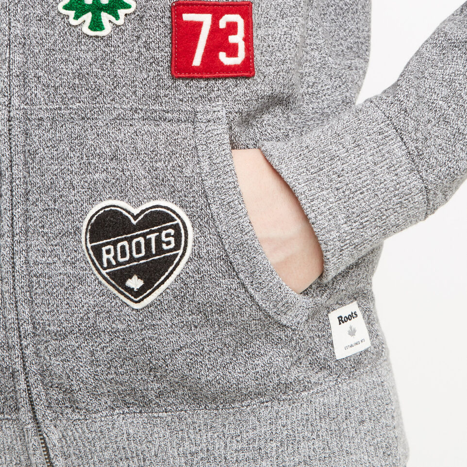 Roots-undefined-Camp Patches Full Zip Hoody-undefined-E