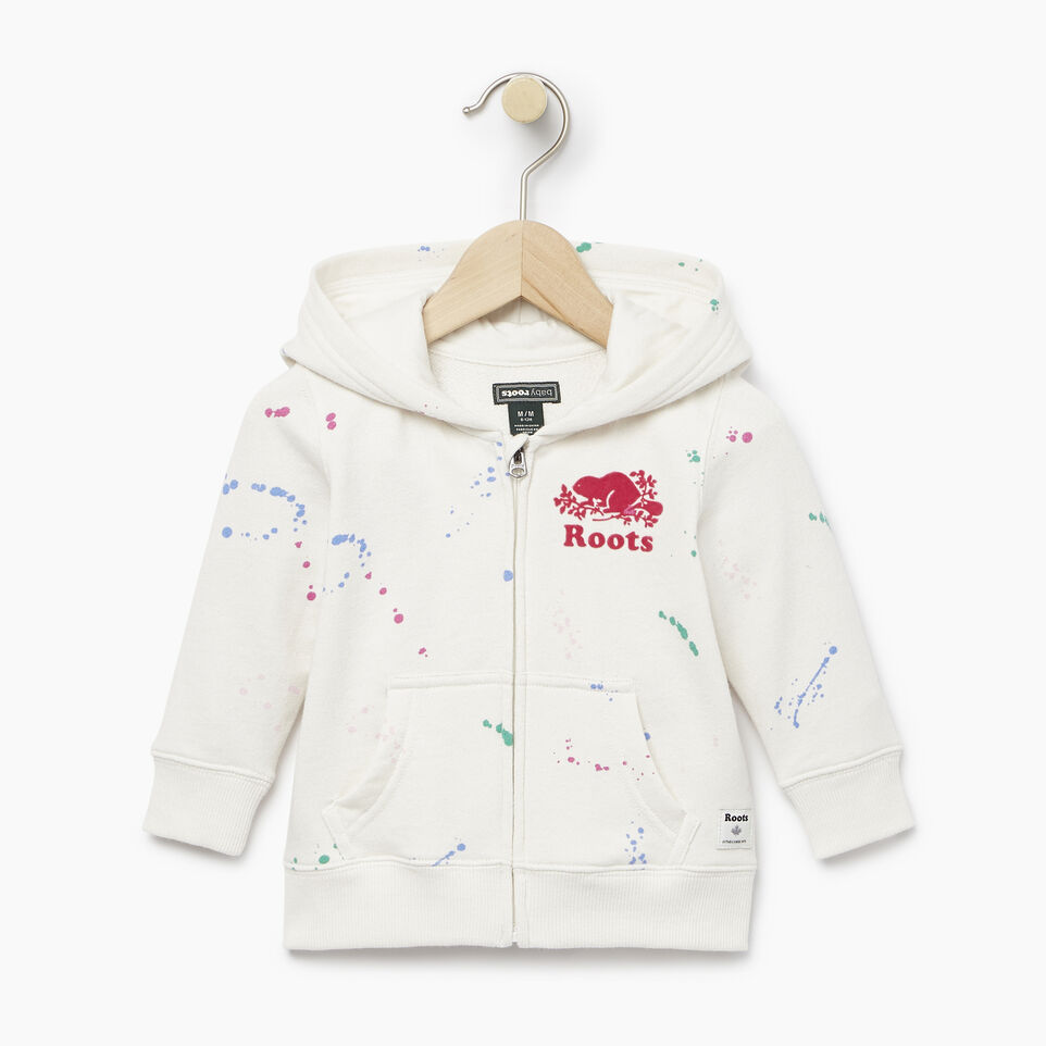 Roots-undefined-Baby Splatter Full Zip Hoody-undefined-A