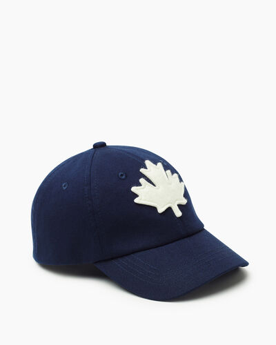 Roots-Kids Canada Collection-Kids Canada Baseball Cap-Navy-A